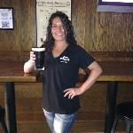 And this is Jennifer. She IS also a bartender at KOB's. She came in to relieve Philly for the day.