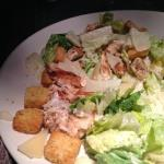 This was S. B.'s Caesar Salad. I hope no one told Caesar who took it!