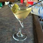 This was S. B.'s signature  Dirty Martini. He usually has  one of these as his after dinner drink.