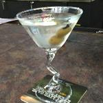 "S. B.,S Clean Martini. He was  infamous for the ""Dirty"" variety in the past. But he has come  ""Clean""!"