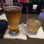 This is a picture of a draft beer, and bourbon on the Rocks.  There was nothing too special about this except the bourbon was an off brand that was half price, and I needed another picture to fill up this Photo Gallery.