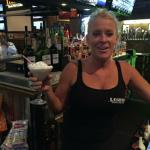 And here is our #1 bartender, Tricia. We go back to 2005 with her, when we started the website.