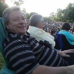 Ronnie and Rodney at  Blossom for the Beach Boys concert.